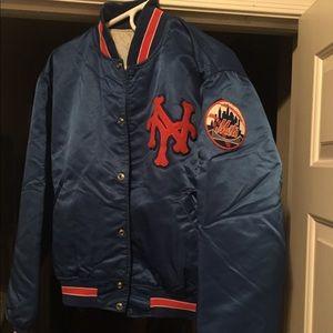 Vintage Starter Mets jacket